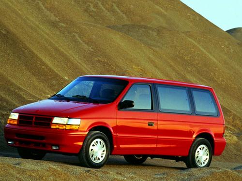 Фото автомобиля Dodge Caravan 2 поколение, ракурс: 45
