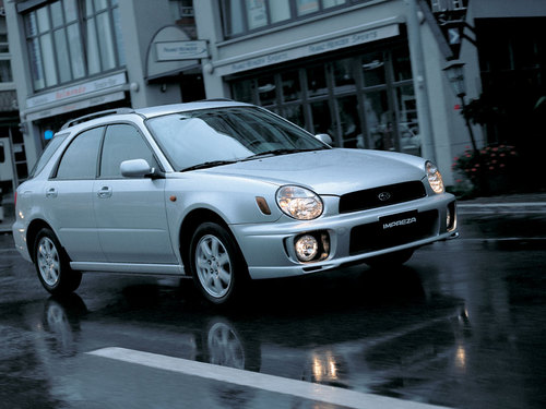 Фото автомобиля Subaru Impreza 2 поколение, ракурс: 315