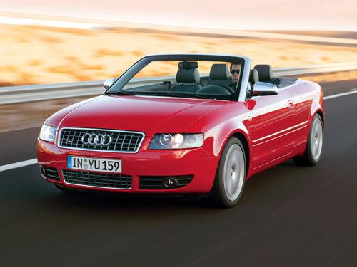 Фото автомобиля Audi S4 B6/8H, ракурс: 45