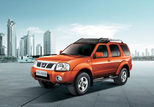 Фото автомобиля Nissan Paladin 1 поколение, ракурс: 45