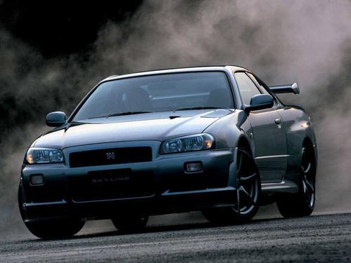 Фото автомобиля Nissan Skyline R34, ракурс: 45