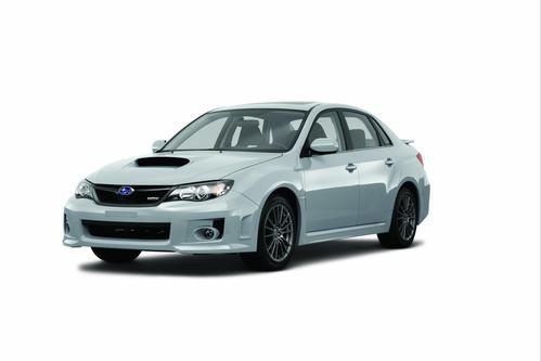 Фото автомобиля Subaru Impreza 3 поколение [рестайлинг], ракурс: 45 цвет: серебряный
