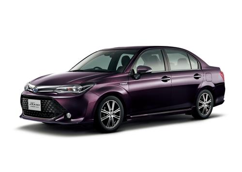 Фото автомобиля Toyota Corolla E170 [рестайлинг], ракурс: 45 - рендер цвет: фиолетовый