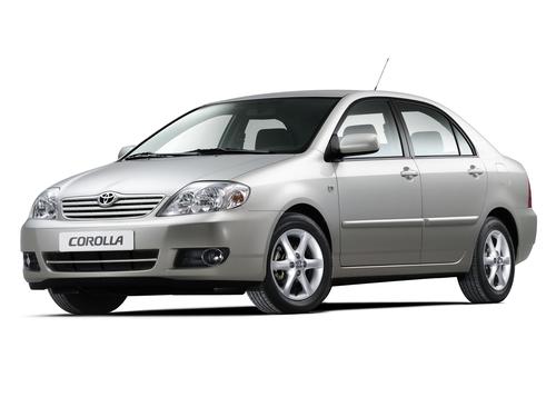 Фото автомобиля Toyota Corolla E130 [рестайлинг], ракурс: 45 цвет: серебряный