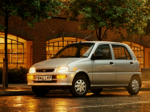 Фото автомобиля Daihatsu Cuore L500, ракурс: 315
