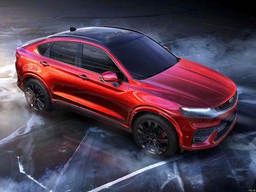 Фото автомобиля Geely FY11 1 поколение, ракурс: 315 цвет: красный