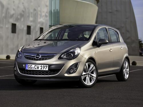 Фото автомобиля Opel Corsa D [рестайлинг], ракурс: 45 цвет: серый