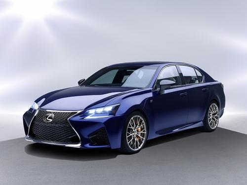 Фото автомобиля Lexus GS 4 поколение [рестайлинг], ракурс: 45 цвет: синий