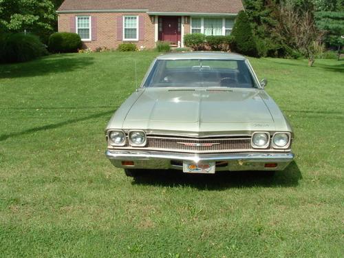 Фото автомобиля Chevrolet Chevelle 2 поколение,