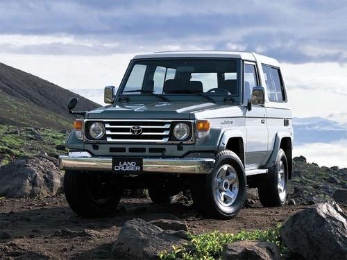 Фото автомобиля Toyota Land Cruiser J70 [2-й рестайлинг], ракурс: 45