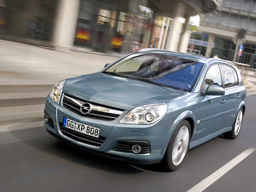 Фото автомобиля Opel Signum C [рестайлинг], ракурс: 45