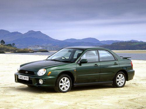 Фото автомобиля Subaru Impreza 2 поколение, ракурс: 45