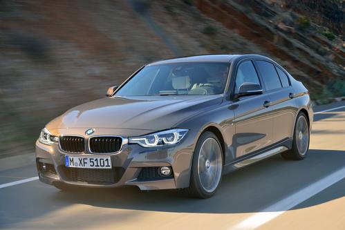Фото автомобиля BMW 3 серия F30/F31/F34 [рестайлинг], ракурс: 45 цвет: коричневый