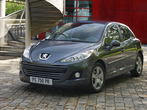 Фото автомобиля Peugeot 207 1 поколение [рестайлинг], ракурс: 45