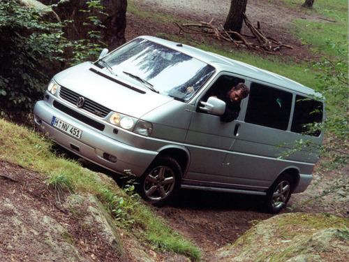 Фото автомобиля Volkswagen Multivan T4, ракурс: 45