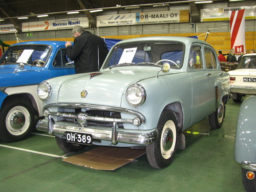 Фото автомобиля Москвич 402 1 поколение, ракурс: 45