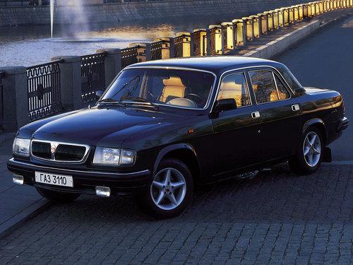 Фото автомобиля ГАЗ 3110 Волга 1 поколение, ракурс: 45 цвет: черный