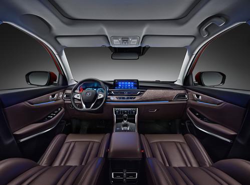 Фото автомобиля Changan CS75 1 поколение [рестайлинг], ракурс: салон целиком