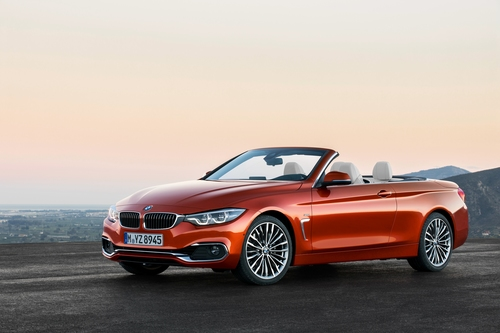 Фото автомобиля BMW 4 серия F32/F33/F36 [рестайлинг], ракурс: 45 цвет: оранжевый