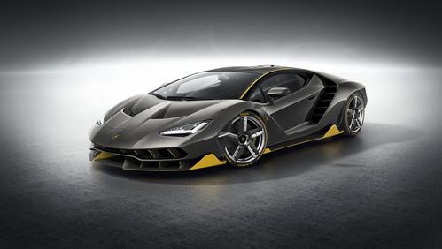 Фото автомобиля Lamborghini Centenario 1 поколение, ракурс: 45 цвет: серый