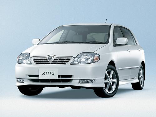 Фото автомобиля Toyota Allex E120, ракурс: 315
