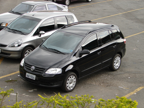 Фото автомобиля Volkswagen Fox 3 поколение, ракурс: 45