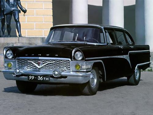 Фото автомобиля ГАЗ 13 Чайка 1 поколение, ракурс: 45