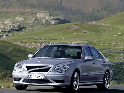 Фото автомобиля Mercedes-Benz S-Класс W220 [рестайлинг], ракурс: 45