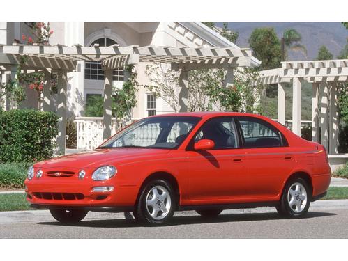 Фото автомобиля Kia Spectra 1 поколение, ракурс: 45