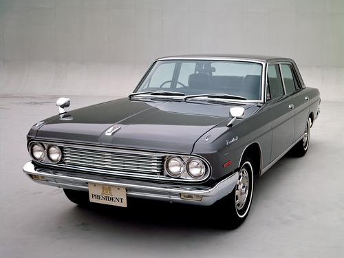 Фото автомобиля Nissan President H150, ракурс: 45