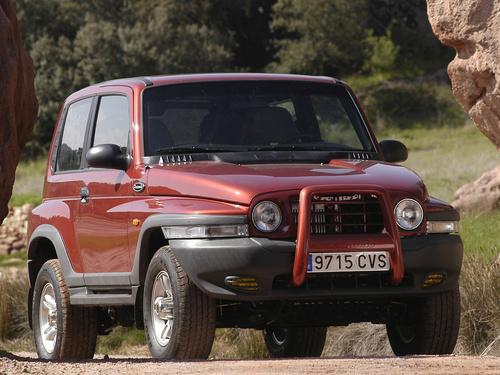 Фото автомобиля SsangYong Korando 2 поколение,