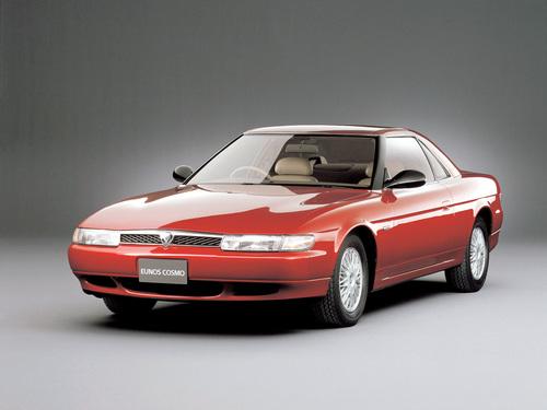 Фото автомобиля Mazda Eunos Cosmo 4 поколение, ракурс: 45