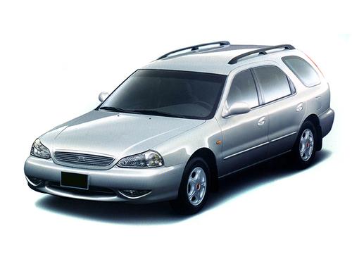 Фото автомобиля Kia Clarus 1 поколение [рестайлинг], ракурс: 45