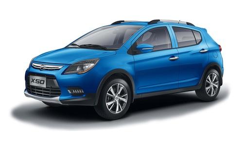 Фото автомобиля Lifan X50 1 поколение, ракурс: 45 цвет: голубой