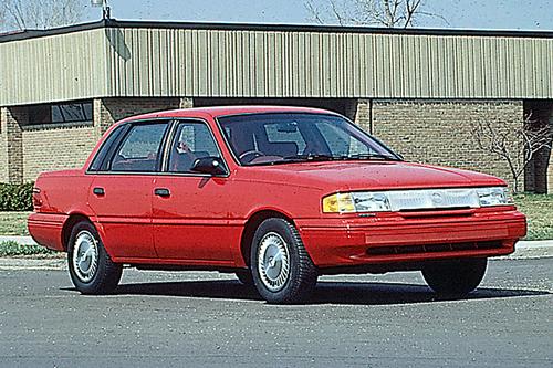 Фото автомобиля Mercury Topaz 1 поколение [2-й рестайлинг], ракурс: 315