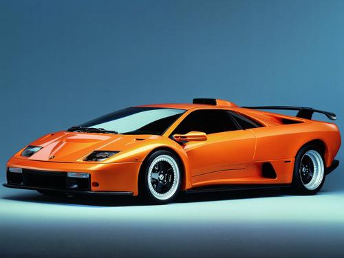 Фото автомобиля Lamborghini Diablo 2 поколение, ракурс: 45