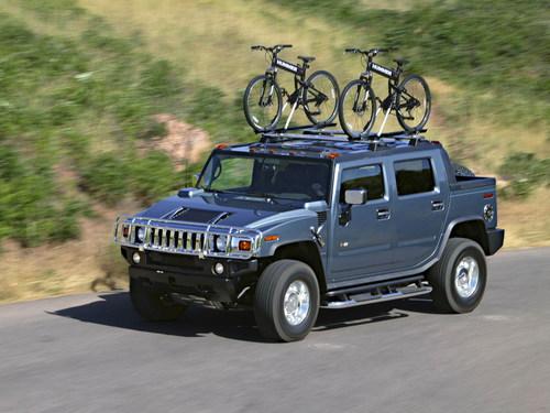 Фото автомобиля Hummer H2 1 поколение, ракурс: 45