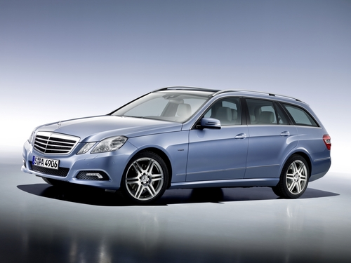 Фото автомобиля Mercedes-Benz E-Класс W212/S212/C207/A207, ракурс: 45 цвет: голубой