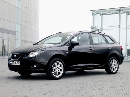 Фото автомобиля SEAT Ibiza 4 поколение, ракурс: 45