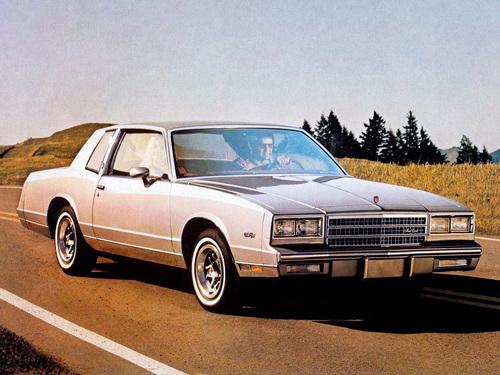 Фото автомобиля Chevrolet Monte Carlo 4 поколение [рестайлинг], ракурс: 315
