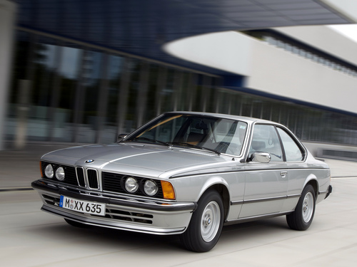 Фото автомобиля BMW 6 серия E24 [рестайлинг], ракурс: 45