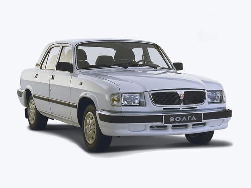 Фото автомобиля ГАЗ 3110 Волга 1 поколение [рестайлинг], ракурс: 315 цвет: белый