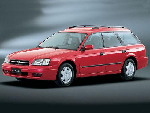 Фото автомобиля Subaru Legacy 3 поколение, ракурс: 45