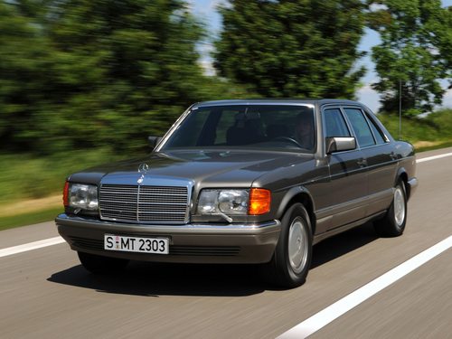 Фото автомобиля Mercedes-Benz S-Класс W126 / C126 [рестайлинг], ракурс: 45