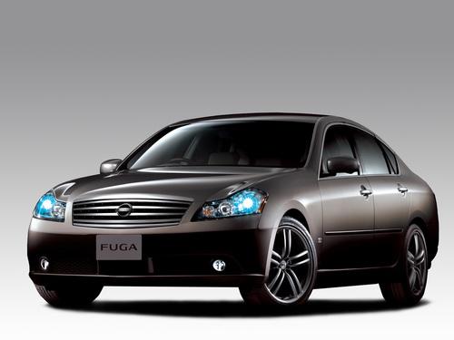 Фото автомобиля Nissan Fuga Y50, ракурс: 45