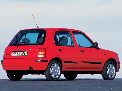 Фото автомобиля Nissan Micra K11B [рестайлинг], ракурс: 225