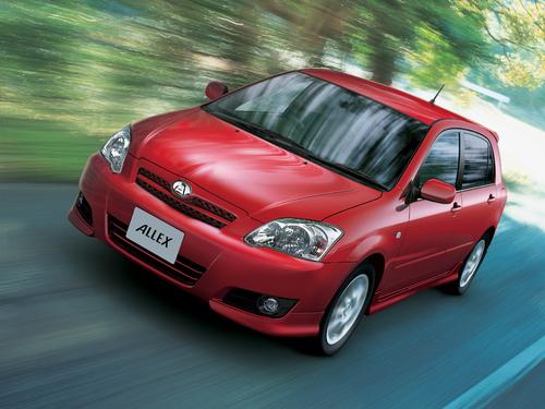 Фото автомобиля Toyota Allex E130 [2-й рестайлинг], ракурс: 45