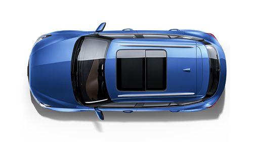 Фото автомобиля Zotye T300 1 поколение, ракурс: сверху цвет: синий