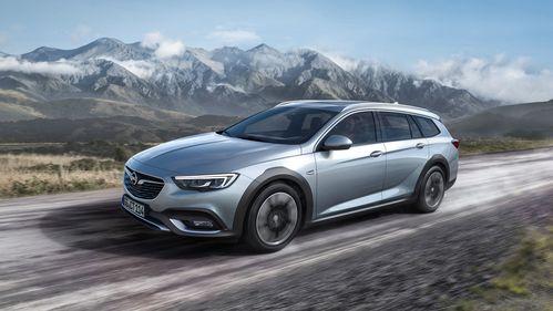 Фото автомобиля Opel Insignia B, ракурс: 45 цвет: серебряный