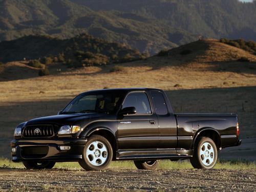 Фото автомобиля Toyota Tacoma 1 поколение [2-й рестайлинг], ракурс: 45